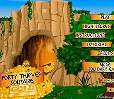 Forty Thieves Solitär
