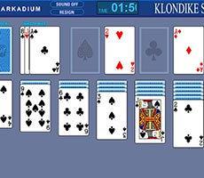 Klondike 3 Karten